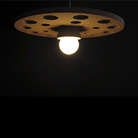 Cork Ceiling Lamp - C54.E27