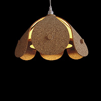 Cork Ceiling Lamp - FW1