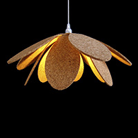 Cork Ceiling Lamp - FW2.3+5mm