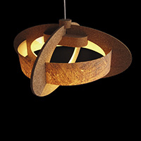 Cork Ceiling Lamp - OH.4F