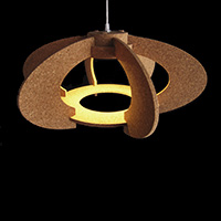 Cork Ceiling Lamp - OH.6F