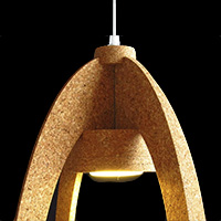Cork Ceiling Lamp - OV