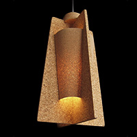 Cork Ceiling Lamp - RH.U