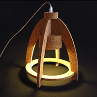 Cork Table Lamp - OV