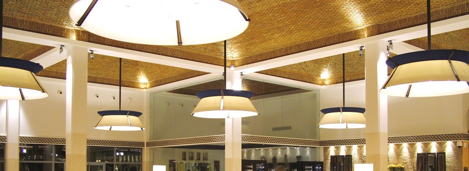 Ceiling Lamps in the Santa Eulália 5 Star Resort